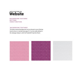 Website design textures and patterns