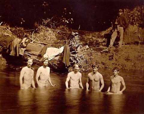 gay military men naked