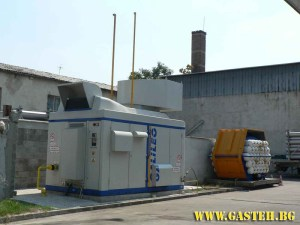 Methane station