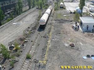 Разтоварище Бутан газ
