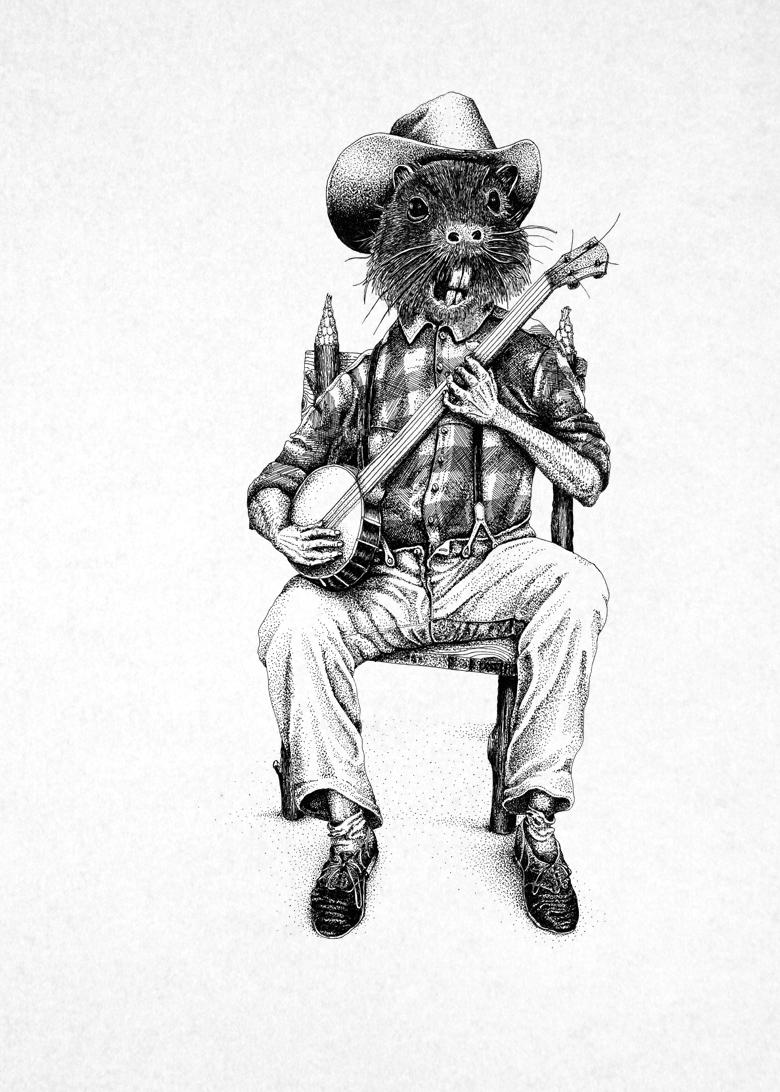banjo_beaver_©gastondelapoyade