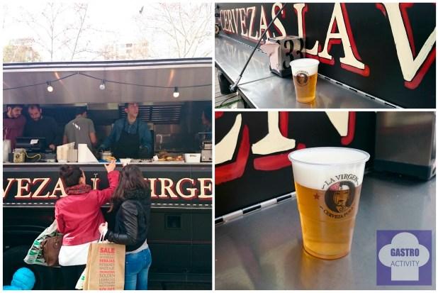 Foodtruck de Cerveza La Virgen madreat