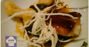 Pixin alangostado restaurante asturiano Kuiru en Madrid