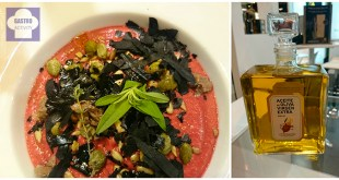 Salmorejo de remolacha y aove DO Esttepa en Salon de Gourmets