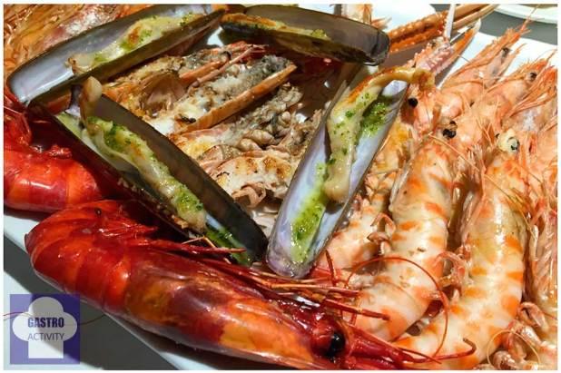 Marisco a la plancha Circulo Marisqueria Madrid