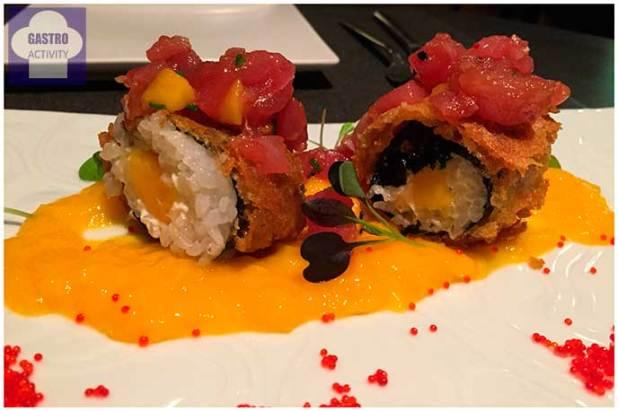 Hosomaki de huevo Restaurante Kotte Madrid