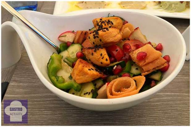 Fatoush Restaurante Shukran comida libanesa Madrid