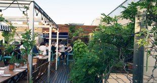 Ático 11 en el Hotel de Las Letras, una terraza para comer bien