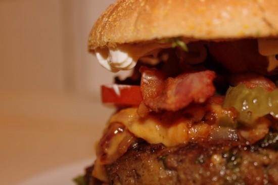 Klassisk Gastromand-burger - bedre bliver hjemmelavet burger ikke