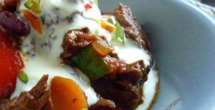 Chili con carne - servering