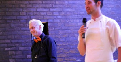 Morten og Ronny - bemærk hvordan de komplementere hinanden rent farvemæssigt...