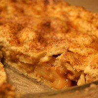 The ultimate pie - Double crust apple pie