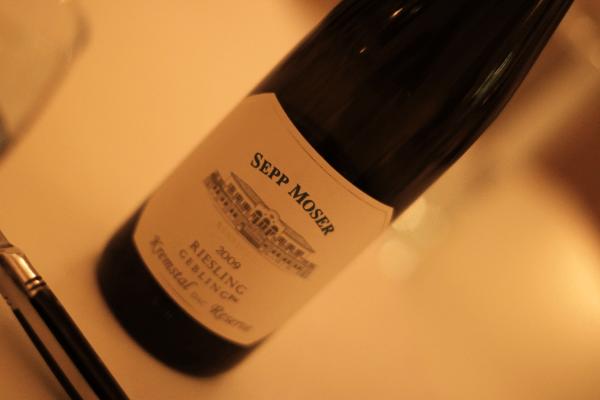 Sepp Moser, Kremstal Østrig - Riesling...