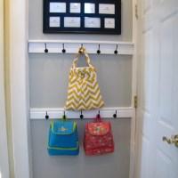 DIY Entry Door Coat Hook Tutorial