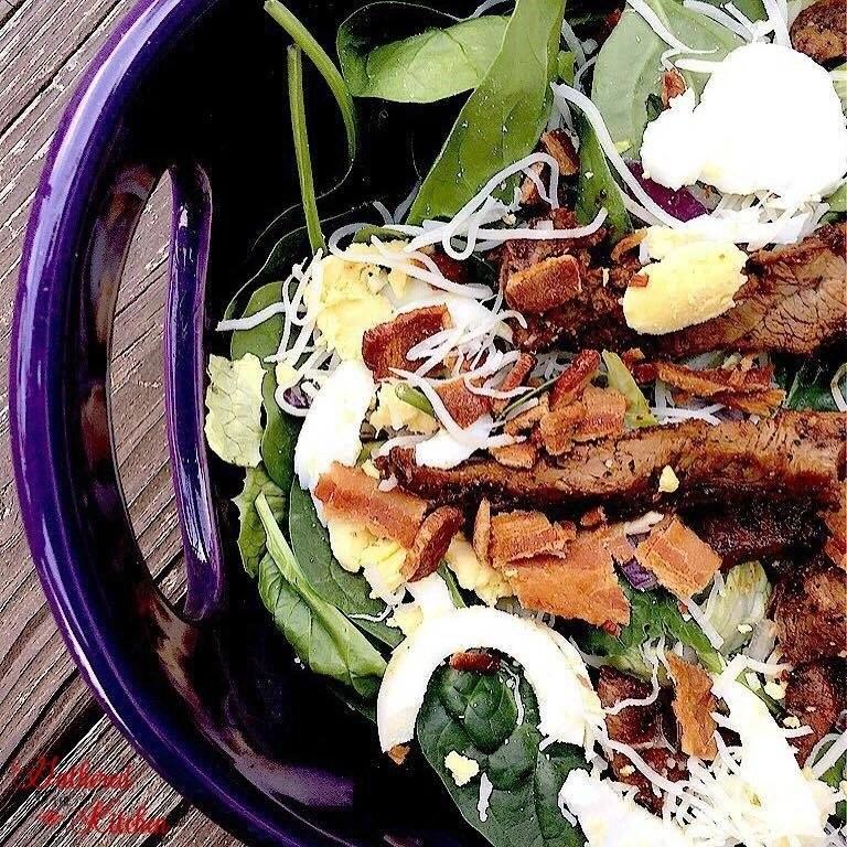 The Best Steak Salad