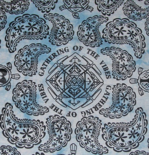 Blue Tie Dye Bandana - VNYS09BALBL