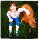 Cathy e Lorelei, 3 anos.