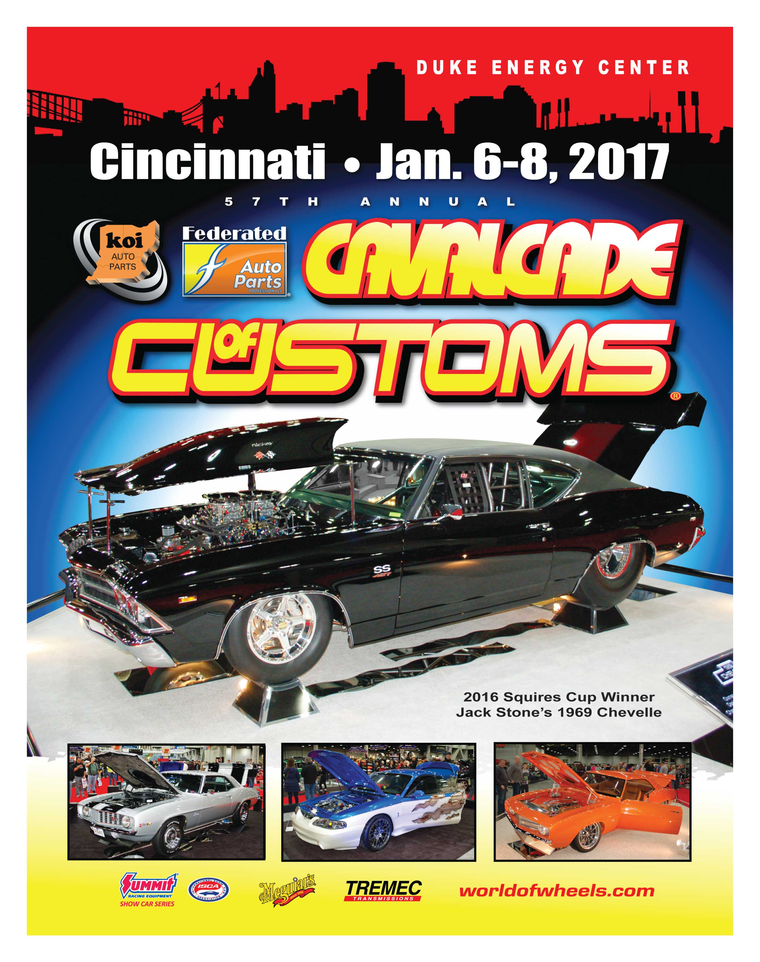57th Annual Koi Federated Auto Parts Cavalcade Of Customs Cincinnati Oh Gauge Magazine