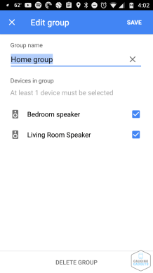 Google Home Group Tutorial (2)
