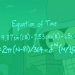Equation of Time (Image)