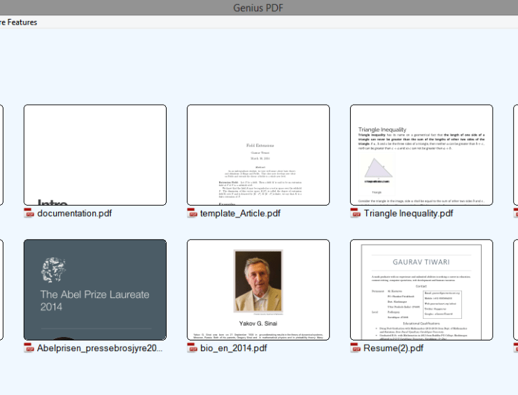 Genius PDF is no more!