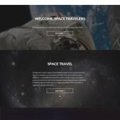intergalactic wordpress theme