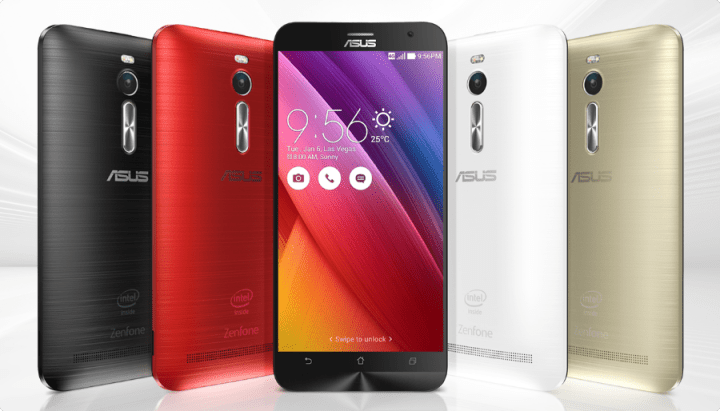 colors options for ZenFone 2