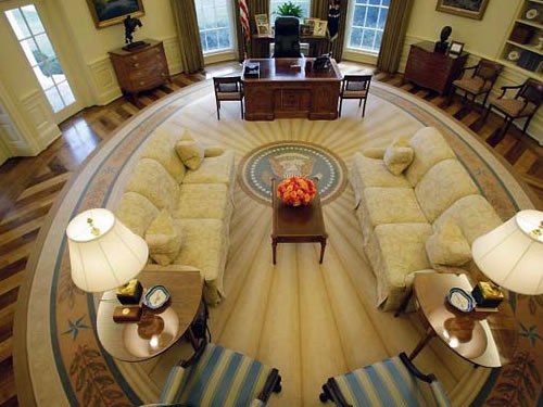 Places To Visit: President Obamas Oval Office