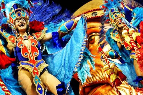 Festivals Around The World - Carnivale Dancer in Brazil