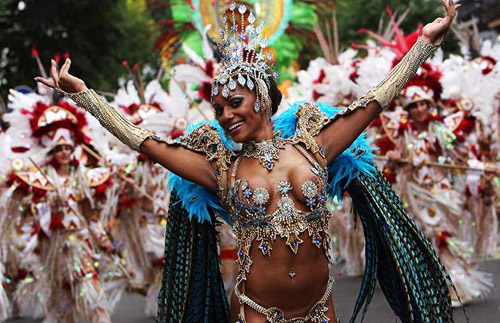 Festivals Around The World - Notting Hill Carnival Dancer