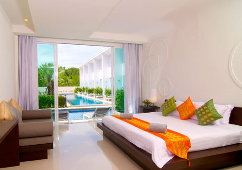 Pool Access Phuket Hotels: The Palmery Resort and Spa