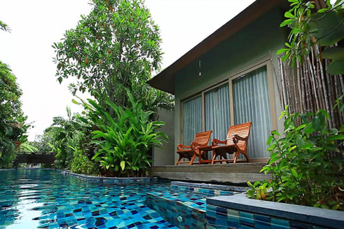 Pool Access Rooms Phuket: Metadee Resort and Villas