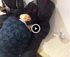 【Vine動画】スリム系男子が男子にフェラ…というよりはイマラチオで悶えまくってるwww