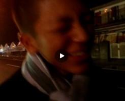 【Vine動画】路上でムケチン丸出しにしながら放尿…撮影されてイケメン恥ずかしそうw