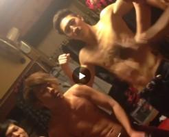 【Vine動画】上半身裸でパーティ―モンスターを踊る筋肉系男子たち!おや?その手に持ってるのは…?