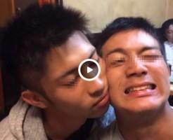 【Vine動画】筋肉男子の朝のイチャイチャタイムは…ヒゲが当たってちょっと痛い?www