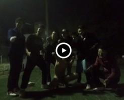 【Vine動画】夜の箱根で大露出!巨根のペニスを振り回し、筋肉系男子がハイテンションw