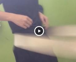 【Vine動画】チ○コ勃起しそう!ベルトマッサージでペニスを刺激されると気持ちいい!?