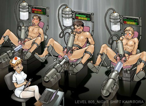 gay yaoi tentacle penis milking