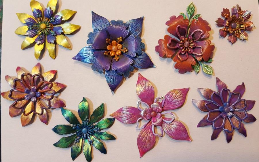 Metal & Flowers