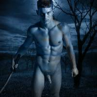 Legend of the Phantom Swordsman - gay art male art by Michael Taggart Photography