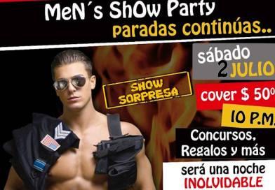 Men show party, paradas continuas – Zacapu