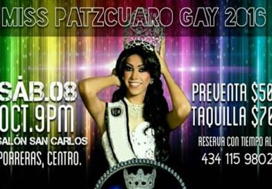 Miss Pátzcuaro Gay 2016