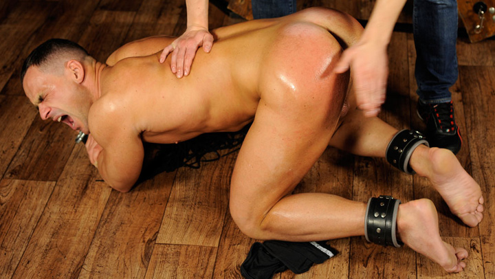 Beefy Stud Bellows During his Painful Punishment