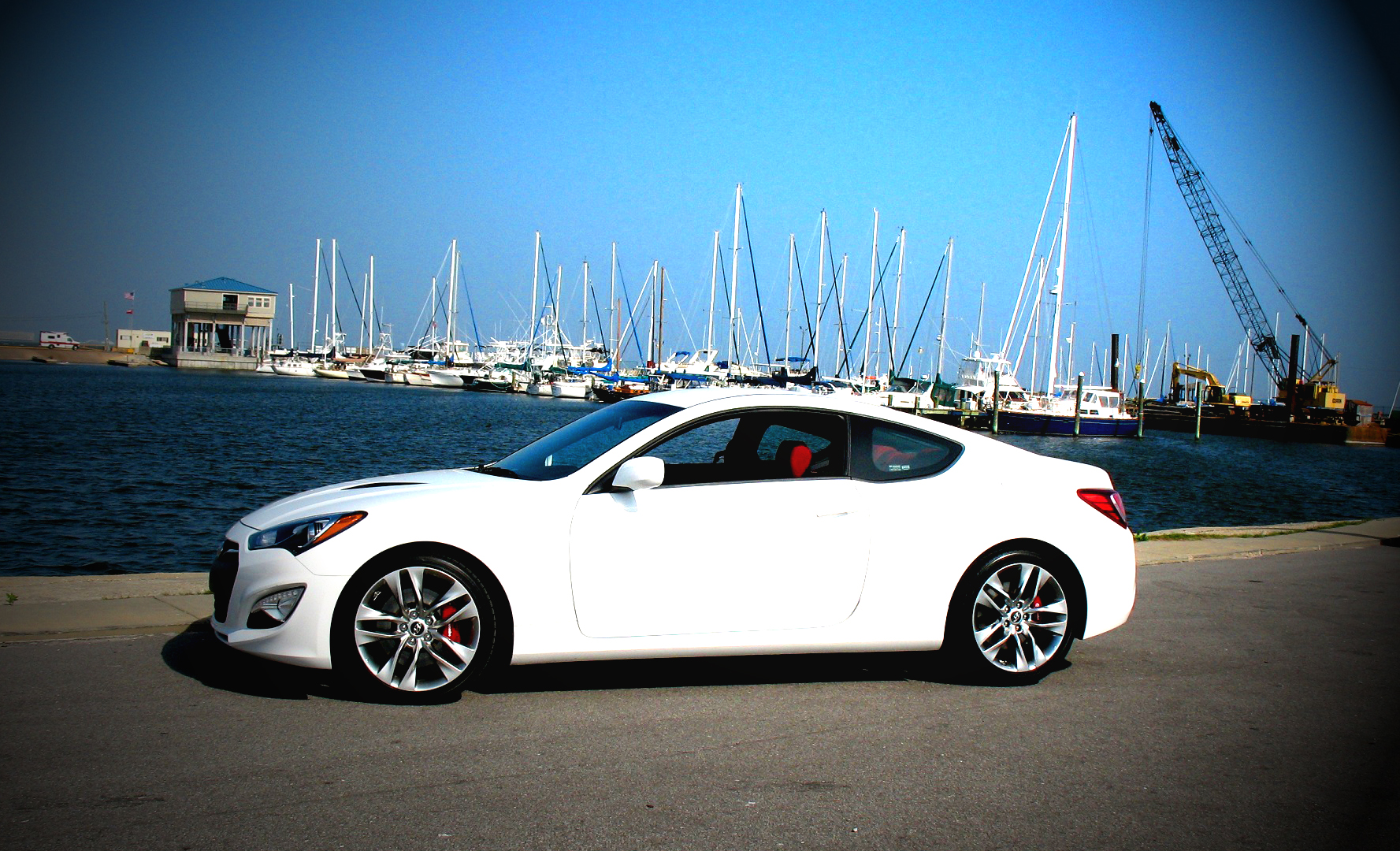 2013 Genesis Coupe: first drive, Long Beach, Mississippi