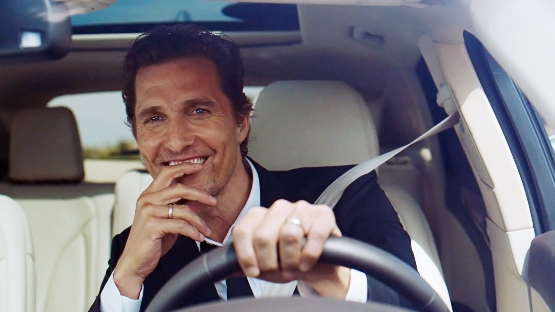 Matthew McConaughey and the 2015 Lincoln MKC