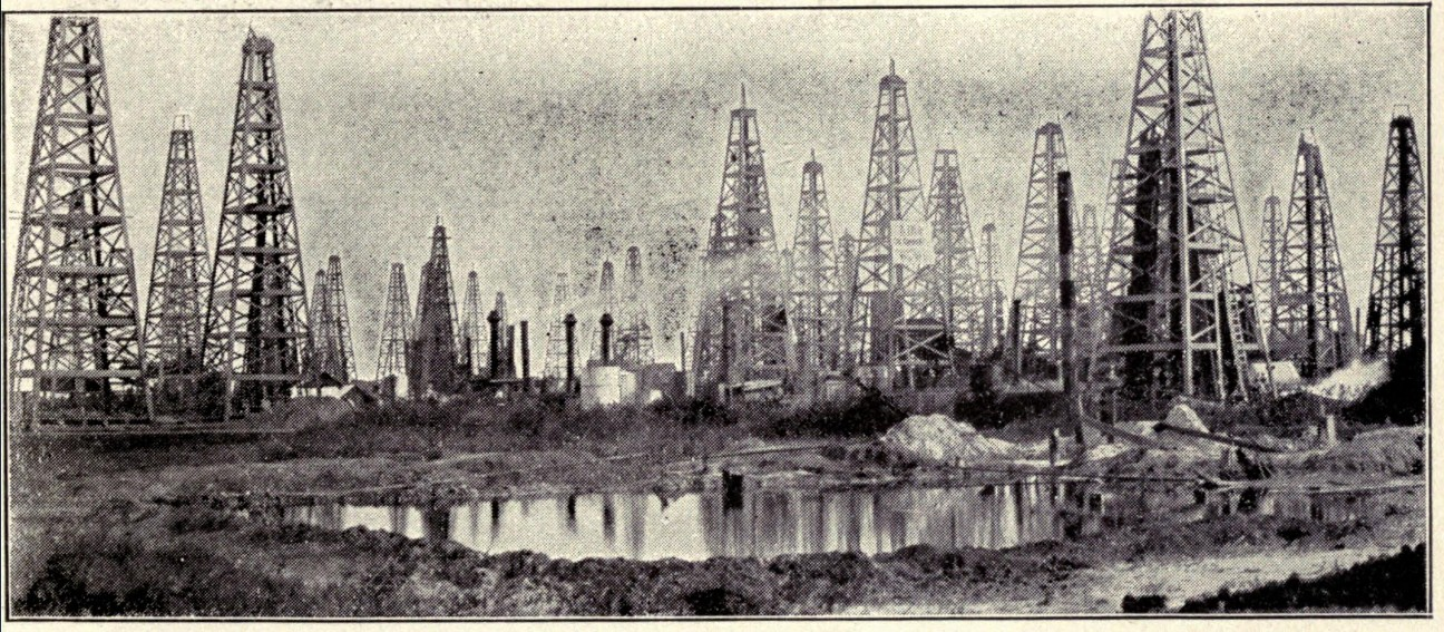 Sketches in crude-oil; some accidents and incidents of the petroleum development in all parts of the globe (1902)