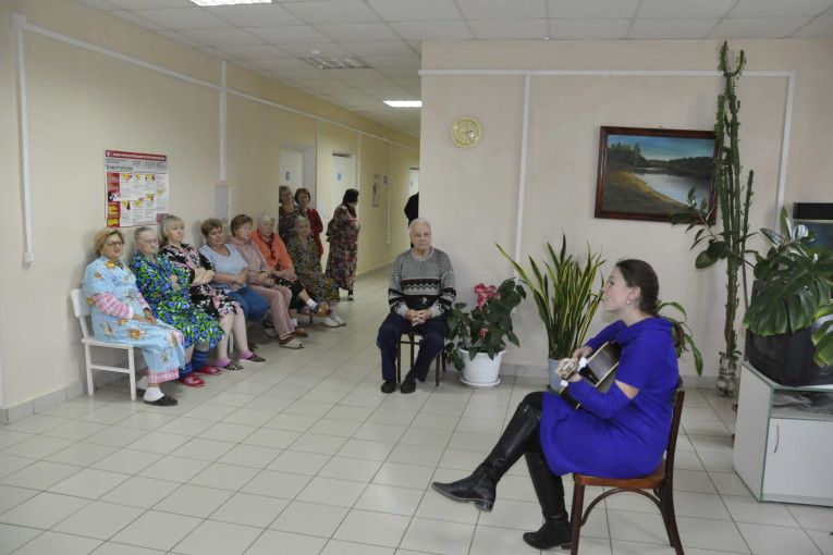 Праздник в отделении больницы  Праздник в отделении больницы