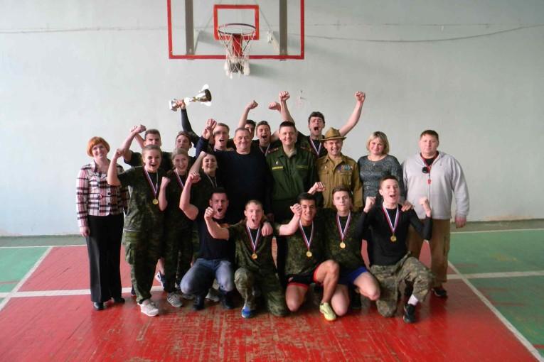 Победители военно-спортивных соревнований