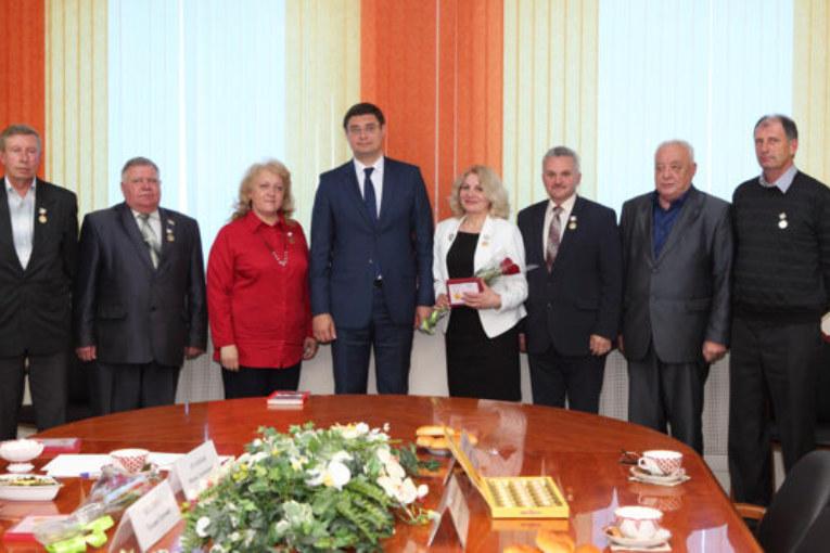 Калужан наградили памятной медалью «Патриот России»